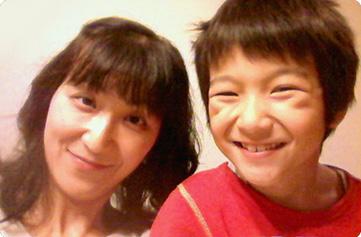 千葉さん親子 写真